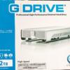 おすすめ❗️\Mac バックアップ 外付け/G-DRIVE(G-Technology)8年使用中で故障なし