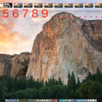 MACではデスクトップ画面を多数作れるのが便利なところでもあります。で、何個デスクトップ画面が作れるのかなぁ〜とふと思いやってみたら,,,