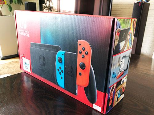 【ついに購入❗️】🔰初めての任天堂Switch《初心者家族👨👩👧👧》レビュー