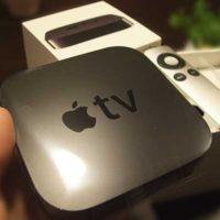 Apple TV。