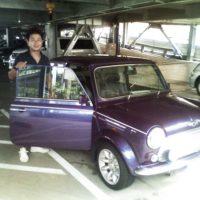 車好きと車見に(mini)。