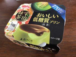 低糖質プリン抹茶味